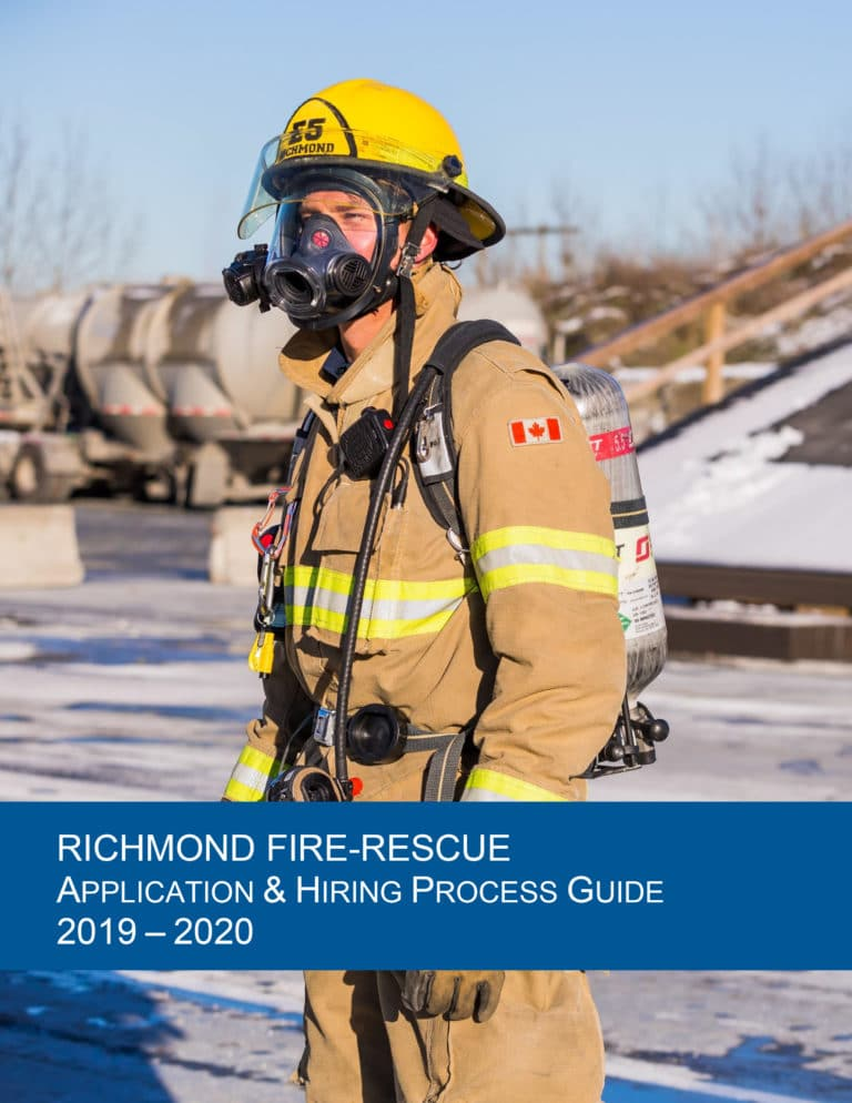 Richmond Fire-Rescue 2019-2020 Application & Hiring Process Guide