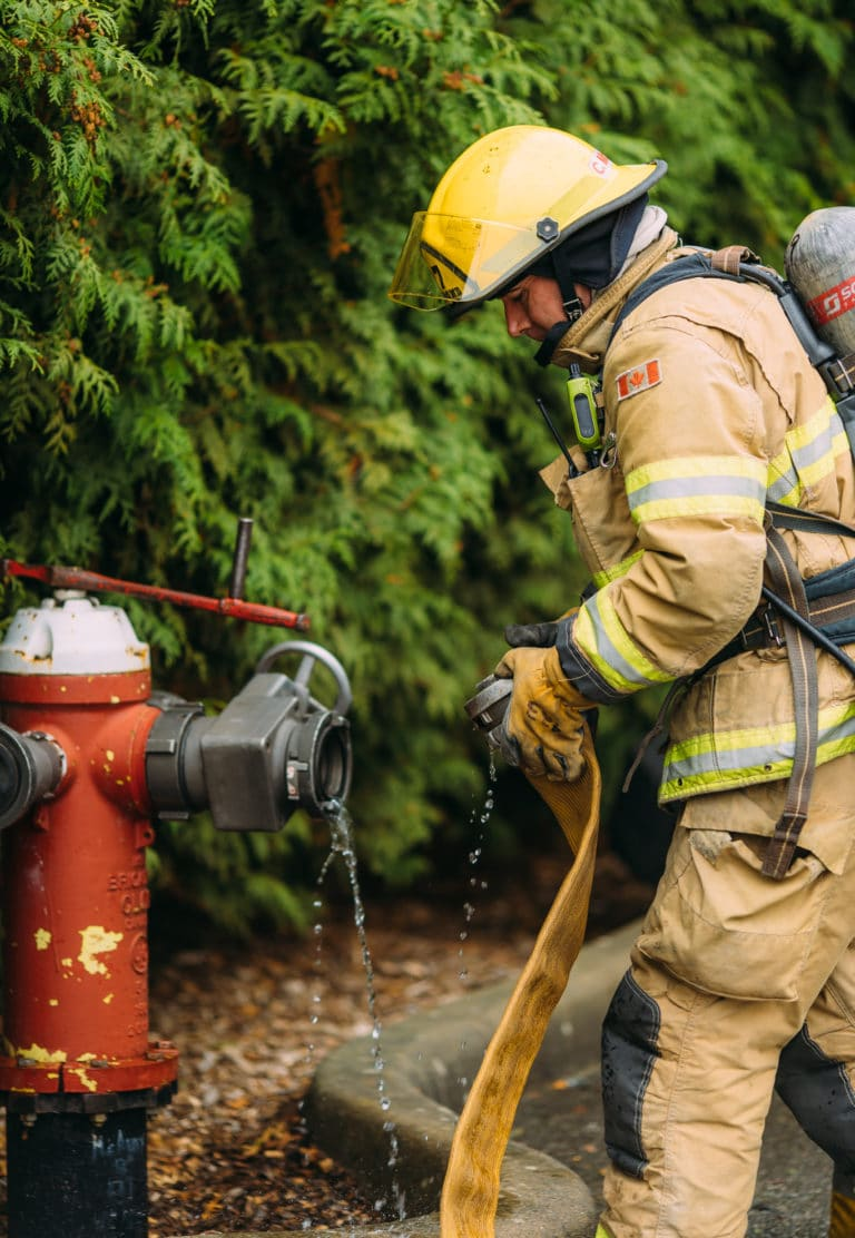 Where can I get more information about training to become a firefighter?