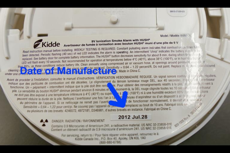 Smoke Detectors and Smoke Alarms both expire, but how do you check?