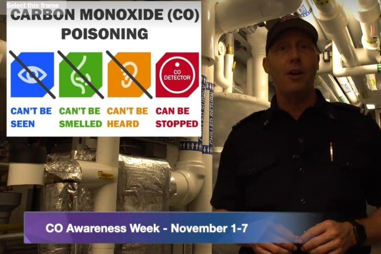 Vlog #3 – Carbon Monoxide Awareness Week – November 1 -7