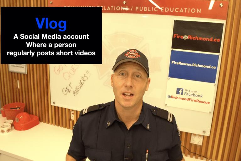 Richmond Fire-Rescue releases it's Vlog!
