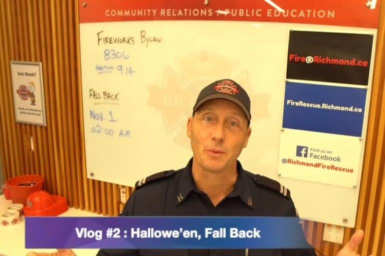 Vlog #2 : Halloween Fireworks and Fall Back 2020