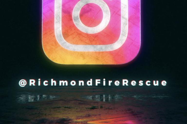 Instagram launches @ Richmond Fire Rescue