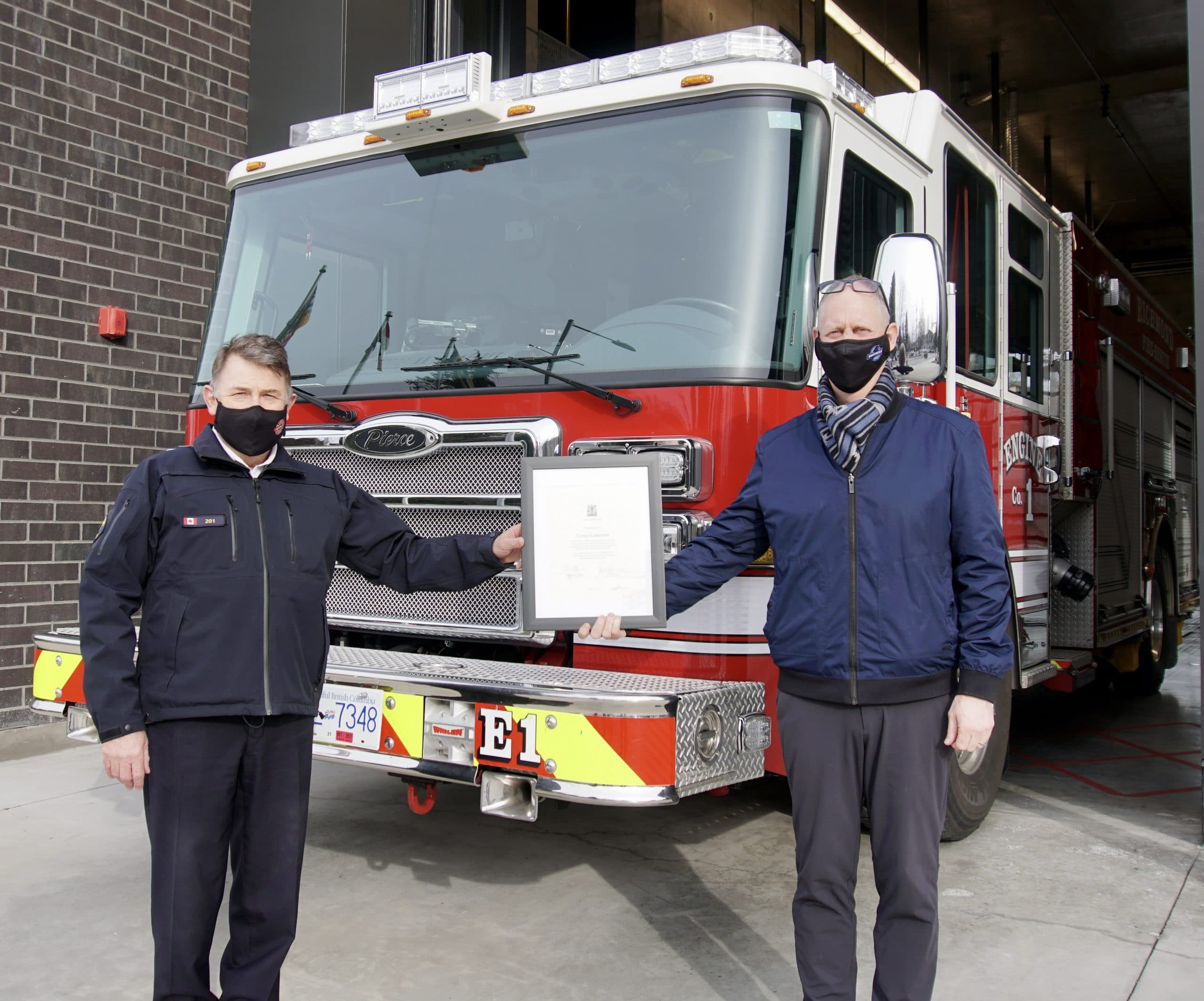 Richmond Rescuer Receives Award