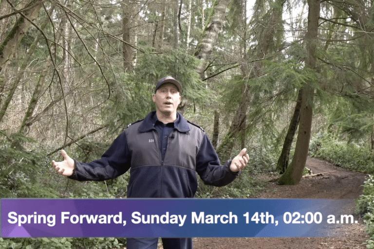 Spring Forward, Sunday, March 14th, 02:00 a.m.